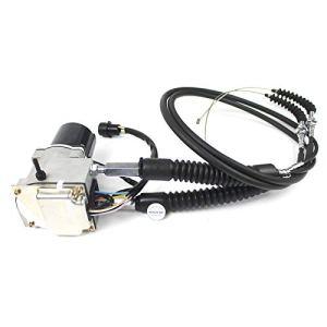 Sinocmp 2475227247–5227Excavatrice rond Moteur d'accélérateur avec câble double round Plug 5broches pour Caterpillar E312E312a