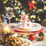 SOLUSTRE Boule de Noël Guirlande Lumineuse Noël Cloche Guirlande Lampe Décorative Guirlande Lumineuse Arbre de Noël Suspendus Lumières (Or sans Batterie) 20LED