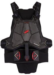 Zandonà Esatech Armour Pro X7 Système de Protection Dos Sternum, Noir, XS