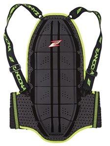 Zandona Shield Evo Protecteur de dos Noir/Jaune 160/170 cm