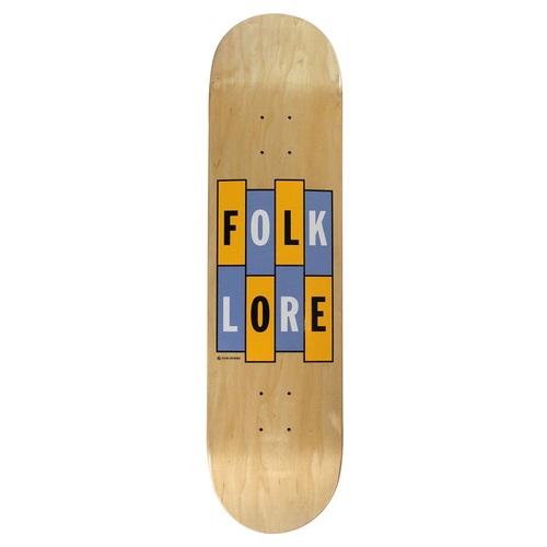 Folklore Vx Warm Press Deck 7 75 Momentum Skate Shop