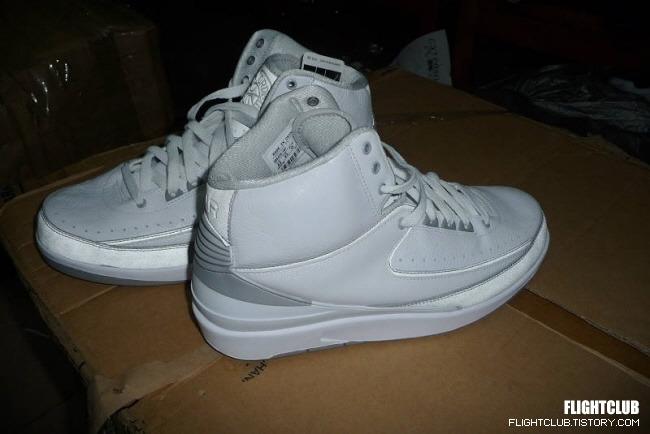 Air Jordan II White  - Grey Reflective