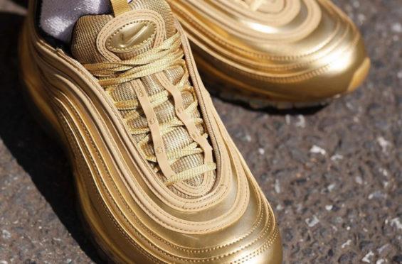 Nike Air Max 97 Gold Medal Debuting Overseas This Week Sneakers Cartel
