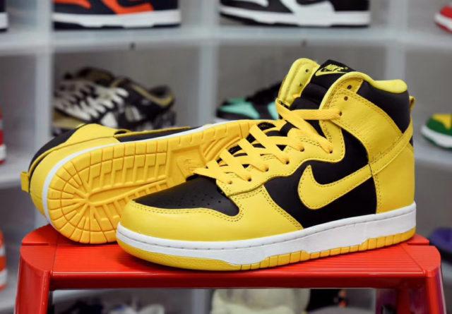 Release Date: Nike Dunk High Black Varsity Maize 2020 ...