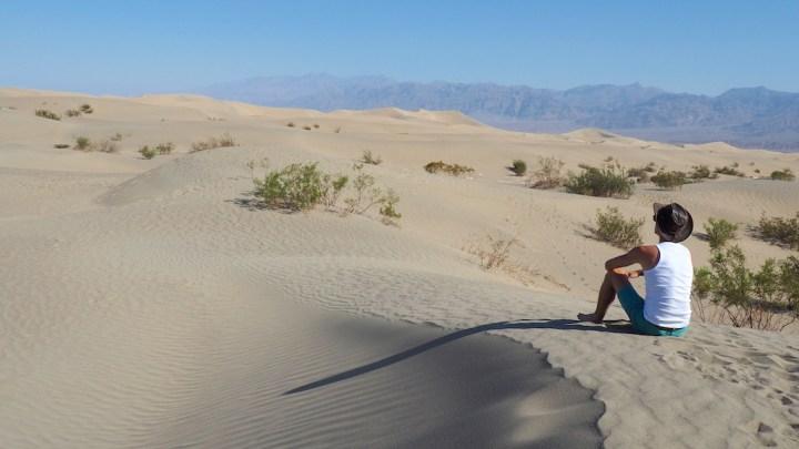 mesquite flat sand dunes death valley roadtrip
