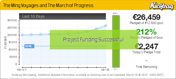 The Ming Voyages and The March of Progress -- Kicktraq Mini