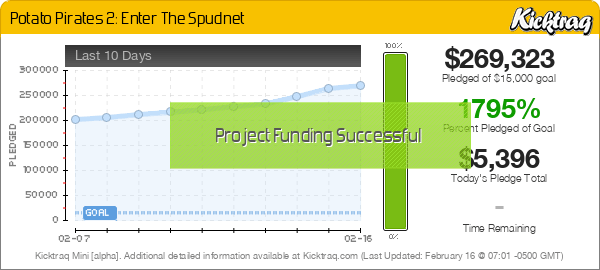 Potato Pirates 2: Enter The Spudnet -- Kicktraq Mini