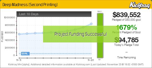 Deep Madness (Second Printing) -- Kicktraq Mini