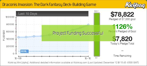 Draconis Invasion: The Dark Fantasy Deck-Building Game -- Kicktraq Mini