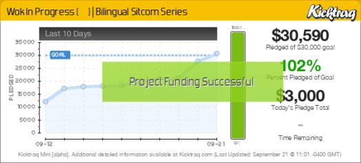 Wok In Progress (中西一家人) | Bilingual Sitcom Series -- Kicktraq Mini