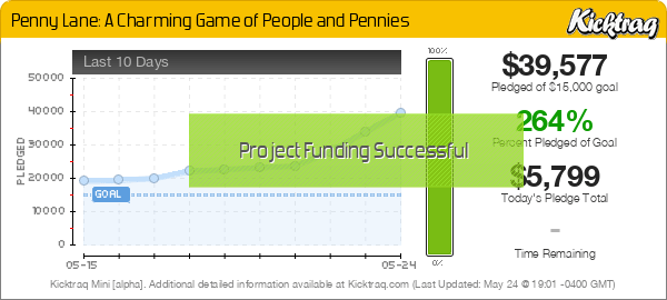 Penny Lane: A Charming Game of People and Pennies -- Kicktraq Mini