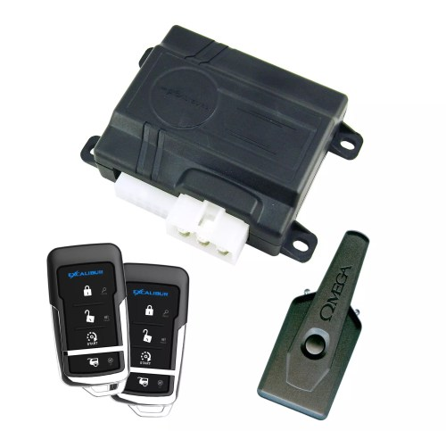 RS-375-3D Deluxe 3000ft Keyless/Remote Start