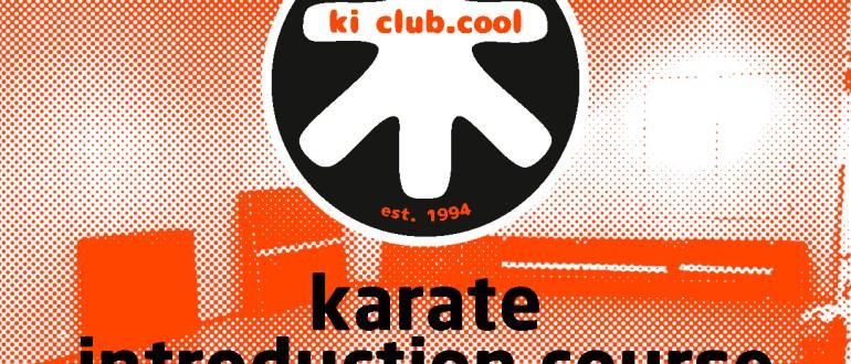 Intro karate course - Zomer karate programma [*2019]-karate summer school organized by Amsterdam karate school ki club.cool Amsterdam