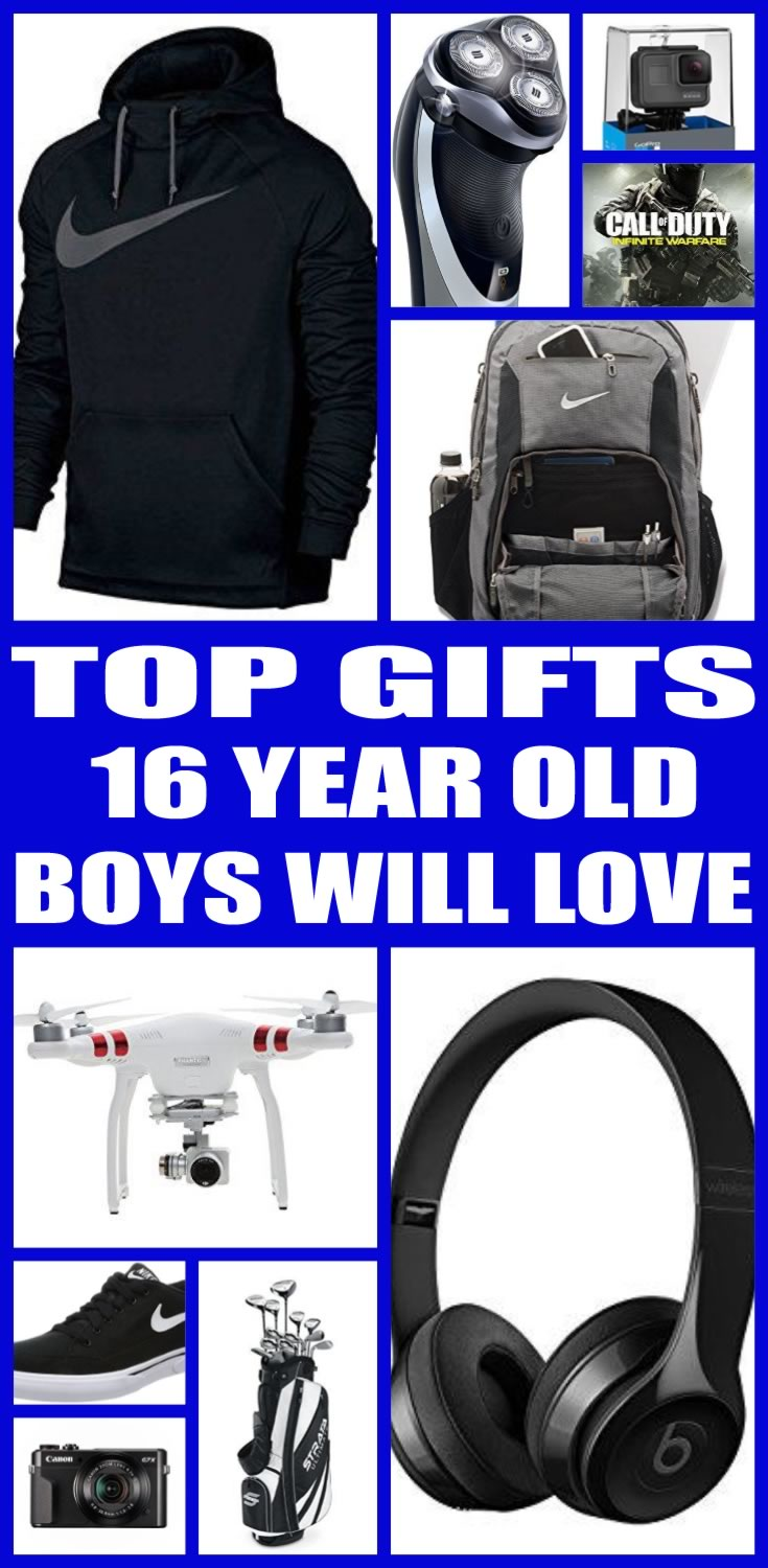 Good Gift Ideas For 16 Year Old Boy Cheap Online