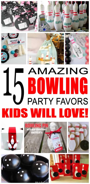 Bowling Party Favor Ideas