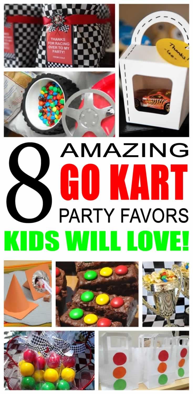 Go Kart Party Favor Ideas