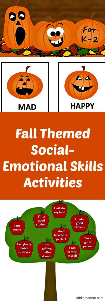 Eall Themed Emotional Skills Activities