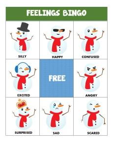 winter social skills games