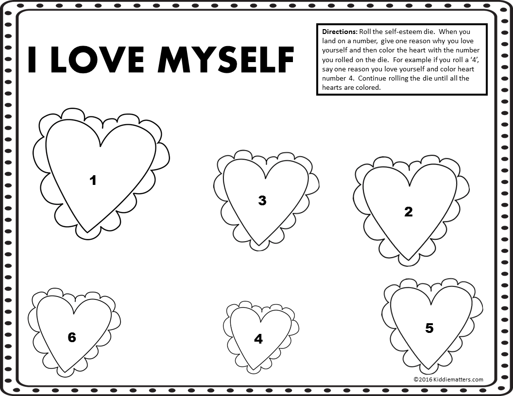 Luxury Self Esteem Coloring Pages Free