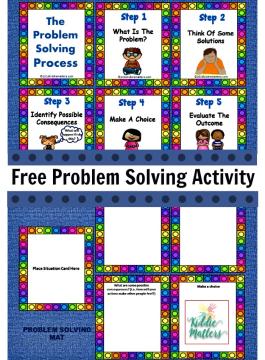 Problem Solving Activity Free Printable