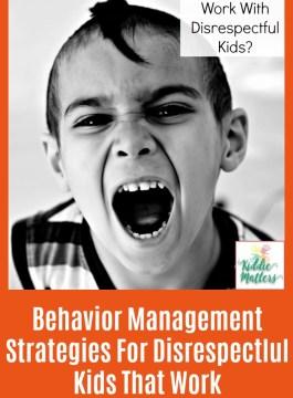 Behavior Management Strategies For Disrespectful Students That Work