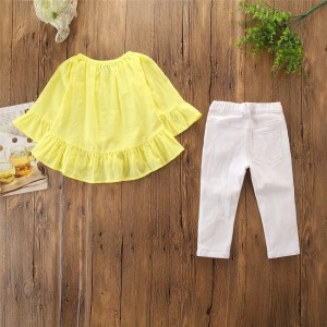 סט צהוב-לבן