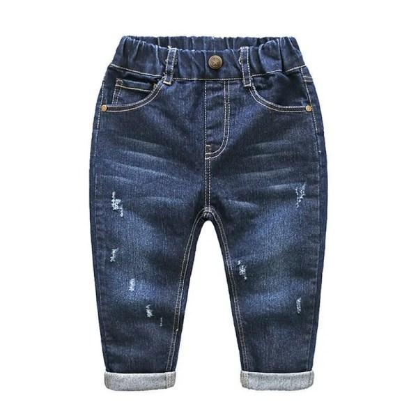 ג'ינס כחול כהה בנים