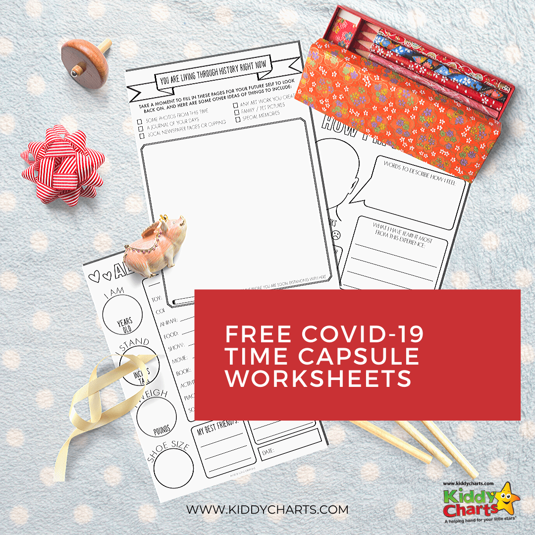 Free Covid 19 Time Capsule Worksheets