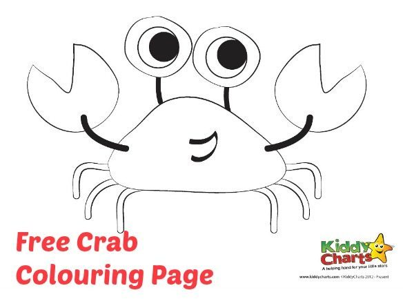 printables free coloring pages crab colouring page crab colouring page