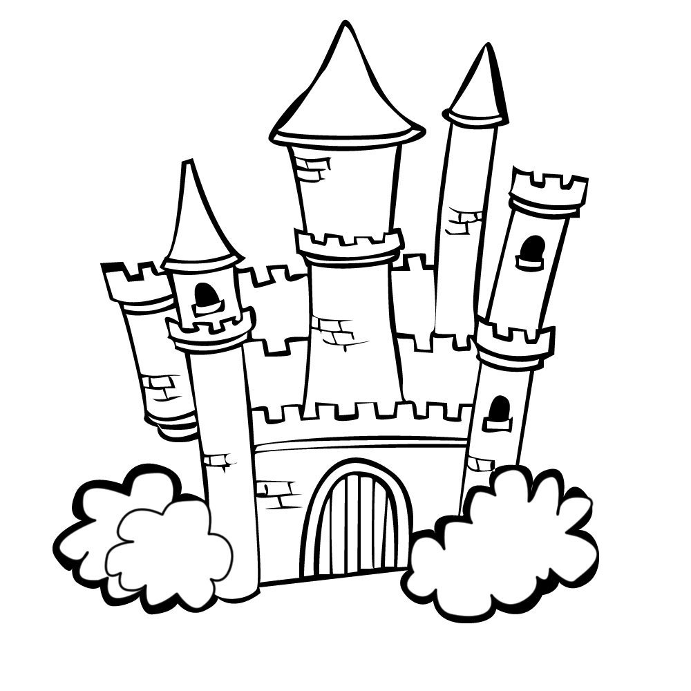 colouring pages princess