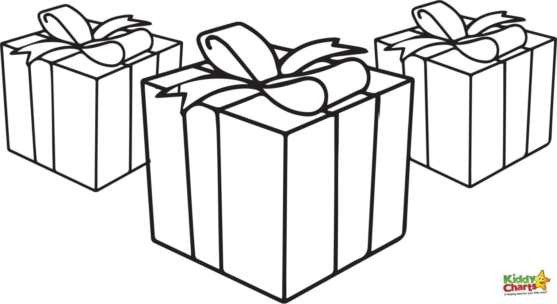 presents free christmas coloring pages