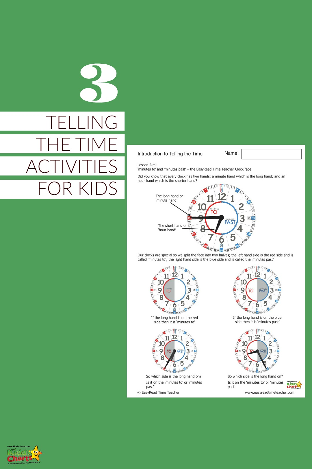 Learning To Tell The Time Worksheets