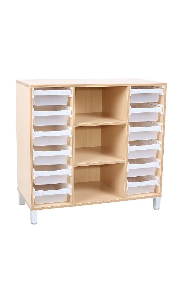 meuble de rangement creche ecole bacs et etageres