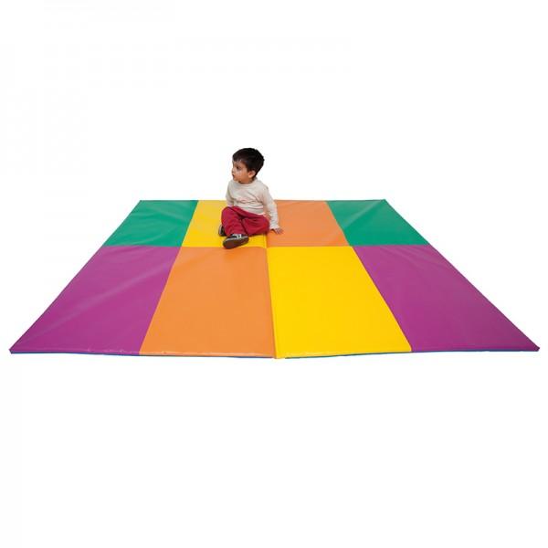 grand tapis de gym pliable