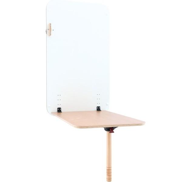 table murale rabattable et reglable taille 5 et 6