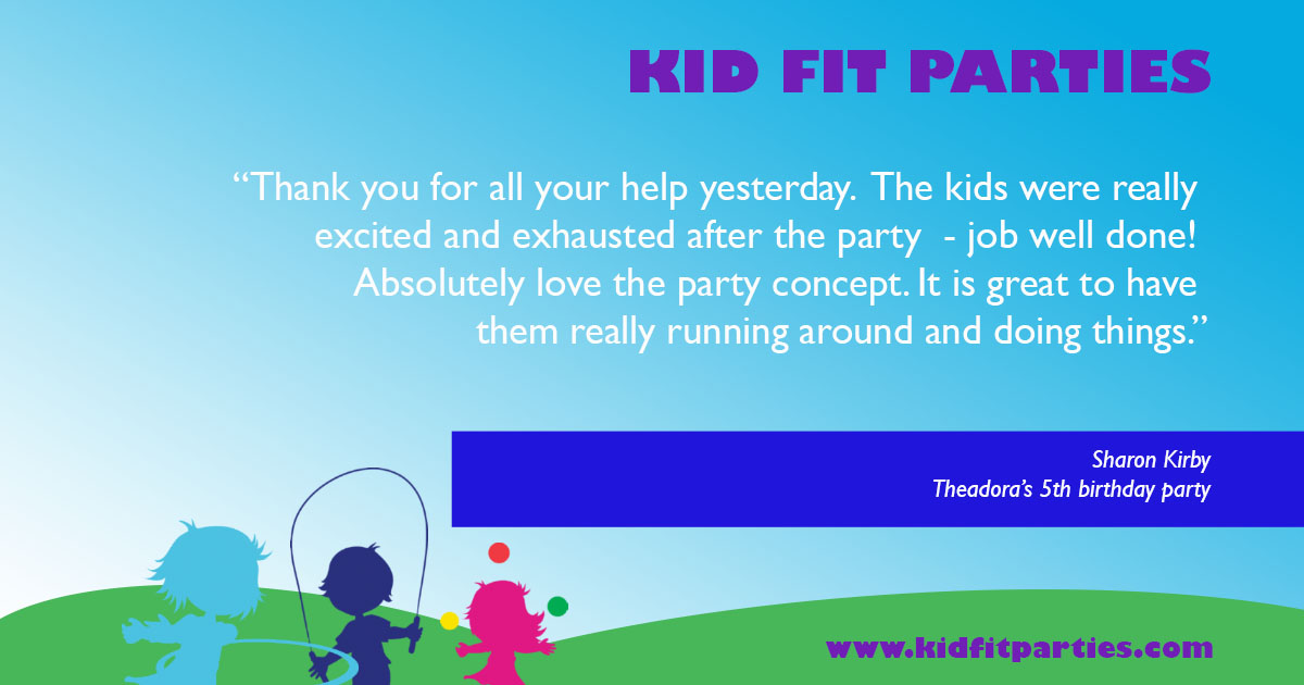 Home Kid Fit Parties