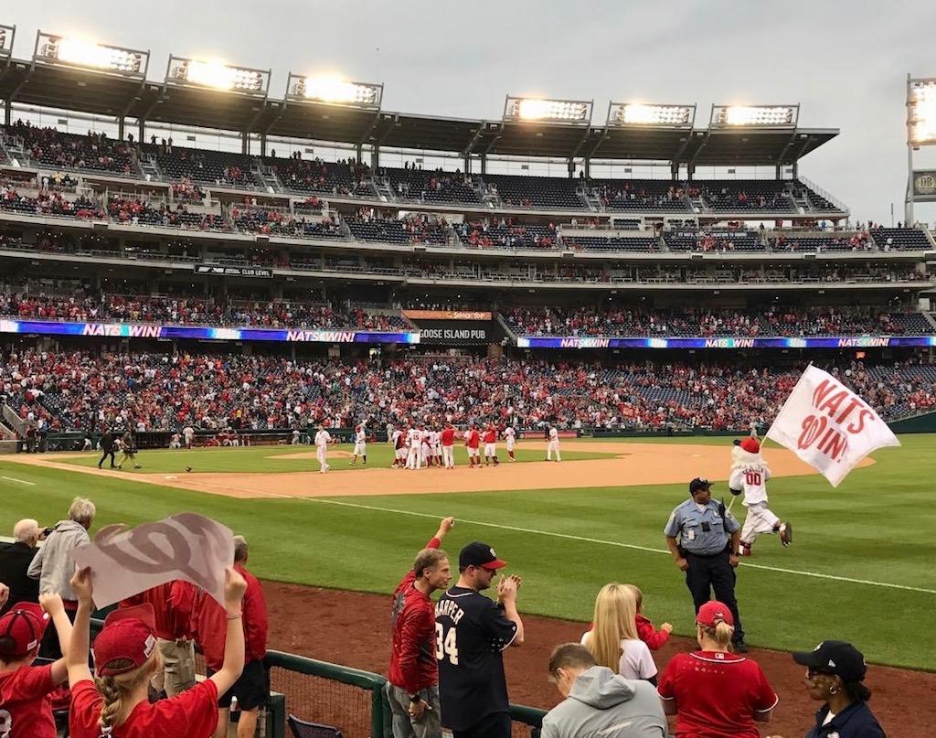 Washington nationals opening day giveaways
