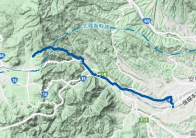 中山道29 軽井沢宿~坂本宿