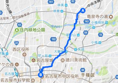 下街道5 栄⇒勝川
