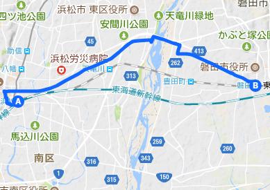 東海道17 浜松⇒磐田