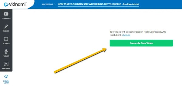 Vidnami generate video for your children's books - KIDPRESSROOM