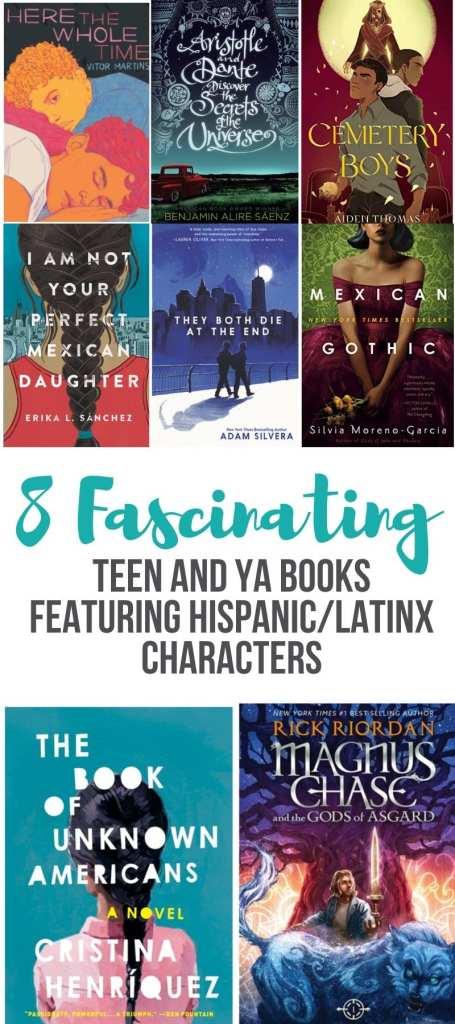 Amazing Teen and YA Books featuring Hispanic/Latinx Characters