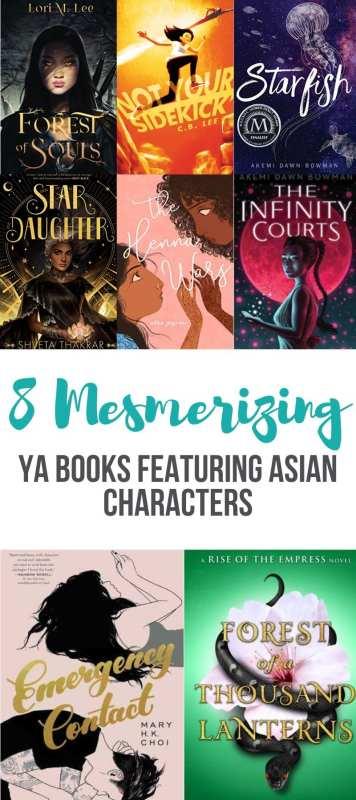Amazing YA Books Featuring Asian Characters- KIDPRESSROOM