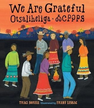 Childrens Books Featuring Native American Characters We are grateful by Tracy Sorell
