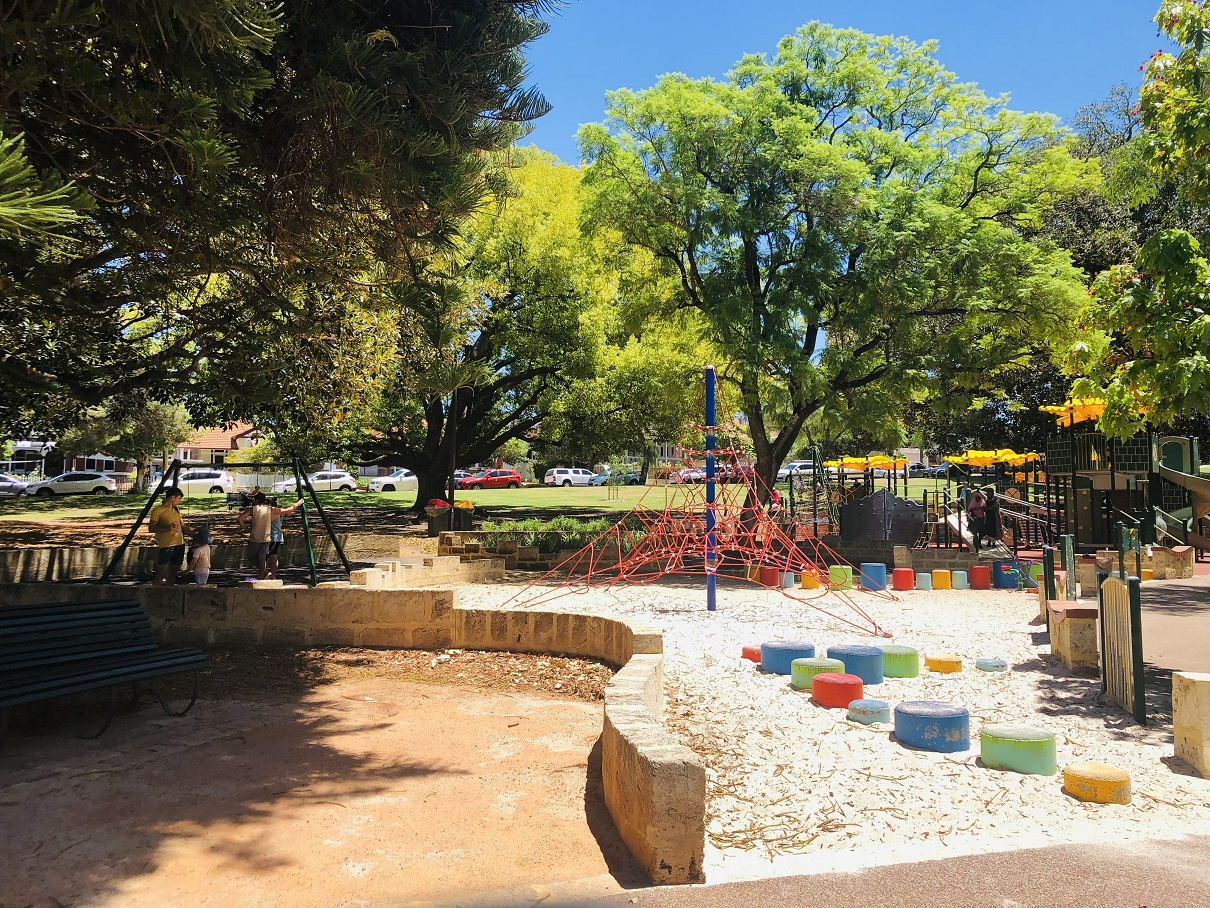 Hyde Park Perth Kids Playground Close To Perth City