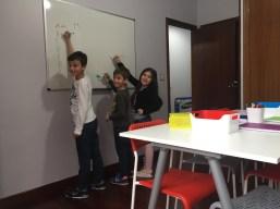 Salón de Estudios - Pizarra
