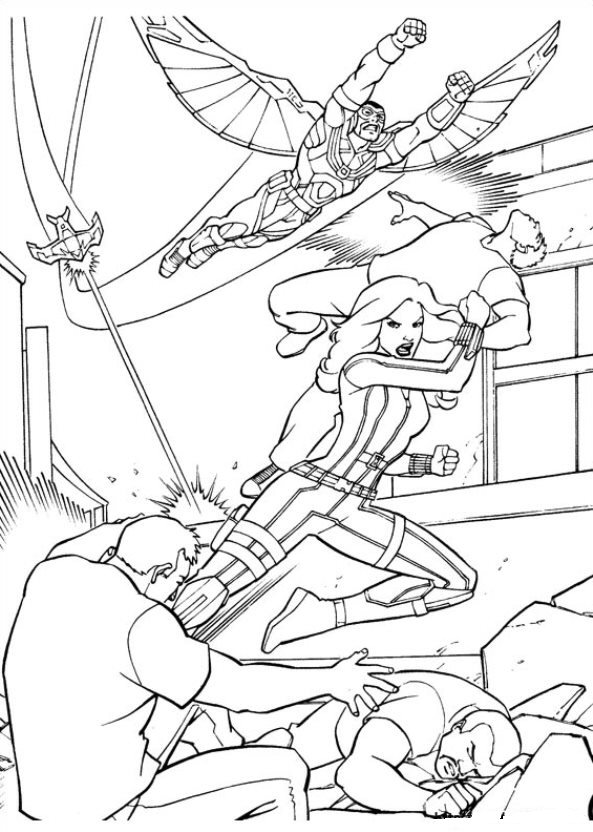 camption america vs iron man civil war coloring pages coloring pages