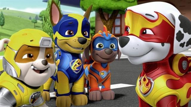kidsnfun  24 coloring pages of paw patrol mighty pups