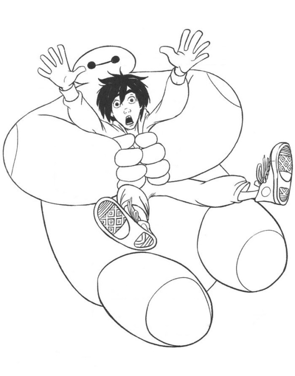 kids n fun com 35 coloring pages of big hero 6