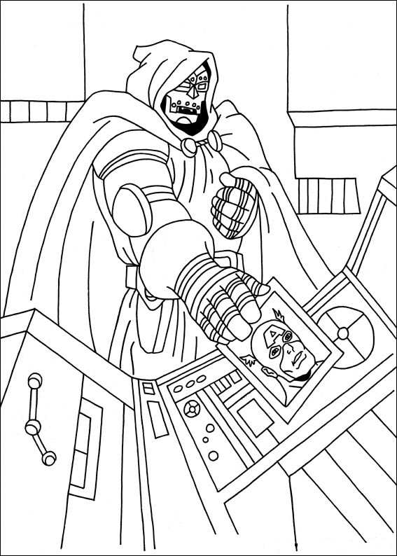 22 Coloring Pages Of Captain America